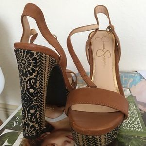 NEW - NEVER BEEN USED BOHO HEELS